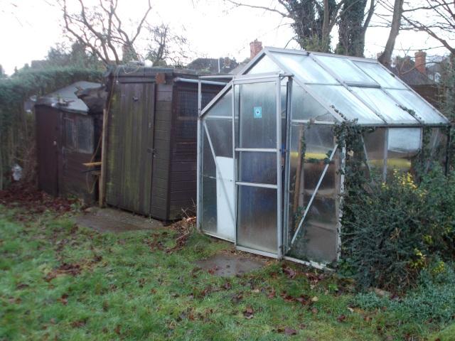 sheds & greenhouse