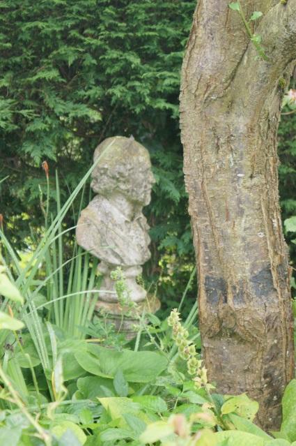 In the Shakespeare garden