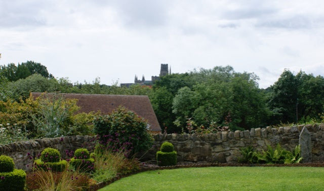 The Cathedral Garden - with a view of the cathedral